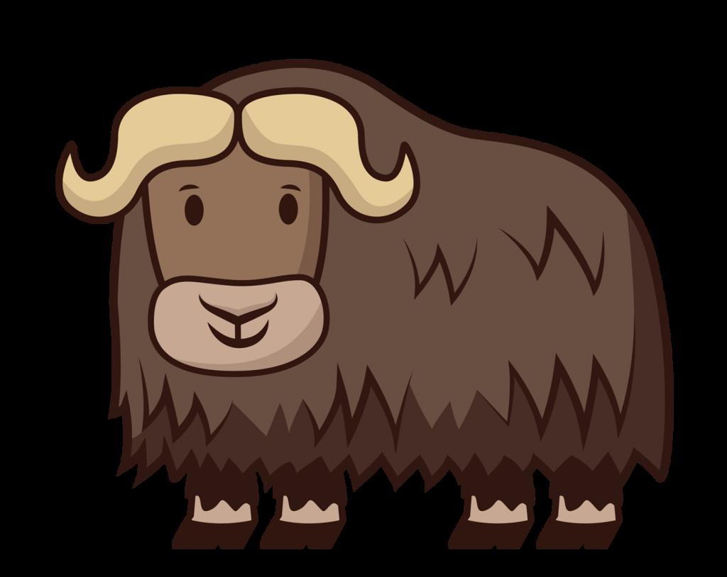Happy Musk Ox - Molar Bear Pediatric Dentistry
