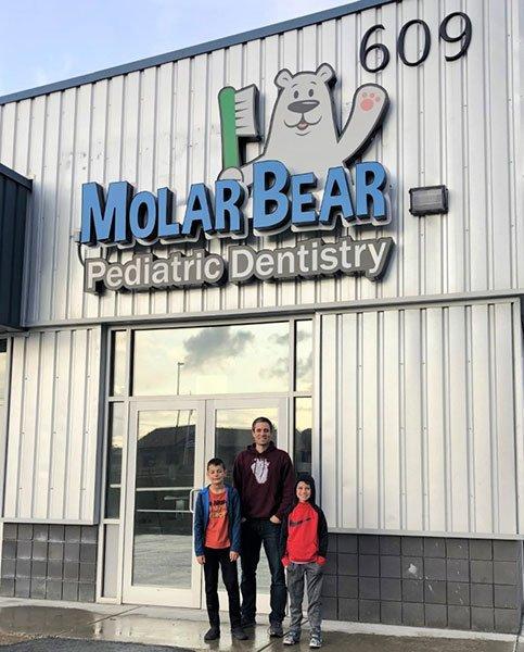 Molar Bear Building in Wasilla AK